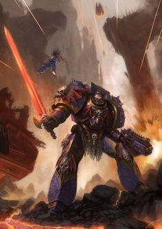 infinitemachine:  Mecha of the Day: -Talos Valcoran, The Soul Hunter- by Luches