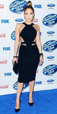 Look of the Day - February 21, 2014 - Jennifer Lopez in Cushnie et Ochs #InStyle