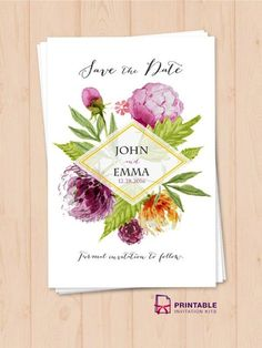 Wedding Invitation Templates You Will Love - MODwedding