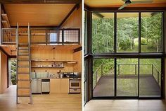 Sol Duc Cabin in Washington by Olson Kundig Architects #interiors #interiordesign #architecture #decoration #interior #home #design #photogrid #bookofcabins #homedecor #decoration #decor #prefab #smallhomes #instagood #compactliving #fineinteriors #cabin #tagsforlikes #tinyhomes #tinyhouse #like4like #FABprefab #tinyhousemovement #likeforlike #houseboat #tinyhouzz #containerhouse by compactliving