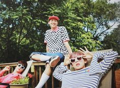Jin, Rapmonster and V @BTS Dreaming-days2016 in Chicago