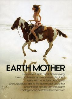 earth mother with bündchen