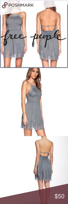 206f28e7dc39 Free People Lace Insert Swing Slip Dress ➖BRAND: Free People ➖SIZE: Small