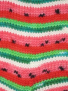 Great watermelon sock yarn!
