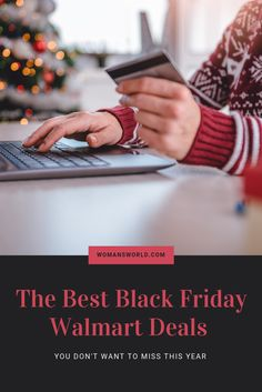 10 Black Friday Walmart Deals You Don't Want to Miss This Year Walmart Black Friday Deals, Black Friday Deals Online, Walmart Deals, Best Black Friday, Christmas Shopping, Fitbit, Budget, Hands, Good Things
