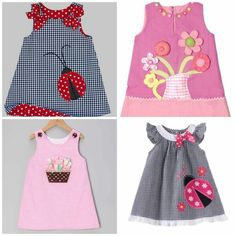 Baby Girl Frocks, Frocks For Girls, Toddler Girl Dresses, Baby Girl Dress Patterns, Baby Clothes Patterns, Baby Dress, Fashion Kids, Toddler Fashion, Kids Coats Girls