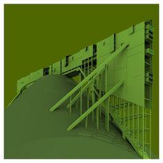 Benjamin Servino, Serven Le Vert: The environmentally-sustainable man Architecture Graphics, Architecture Student, Concept Architecture, Interior Architecture, Arch Model, Interesting Buildings, Facade Design, Presentation Design, Plans