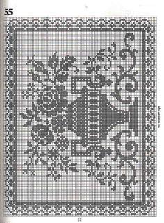 Gallery.ru / Фото #47 - Crochet Filet pour Point de Croix 1 - Mongia