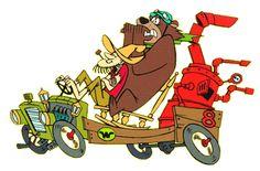 hanna-barbera cartoon characters | Hanna Barbera Cartoon: Wacky Races