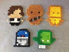 Mini Star Wars Magnets -Set of 5- - by Rainbow.andthe.Sun on madeit $11.95 + P