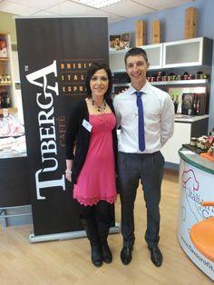 Italian coffee @ our Italian food & wine fair in dublin :)