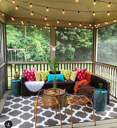 Love lights for porch/ patio