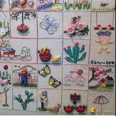 Küçük mutluluklar panosunun diğer bölümü...🌵🌻💐 Tek kareye sığdıramamıştım...😌#embroidery #handmade #elişi #küçükmutluluklar #küçükşeyler #nakış#dekoratifnakış#pano#