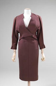 Suit, Charles James (American, born Great Britain, 1906–1978): 1950, American, wool.