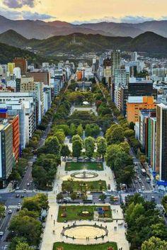 Sapporo's Hisaya Odori Park