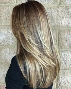 Trendy Hairstyles And Haircuts For Long Layered Hair To Rock In 2019 Trendy Frisuren und Haarschnitt Shaved Side Hairstyles, Thin Hair Haircuts, Long Layered Haircuts, Haircut For Thick Hair, Layered Long Hair, Cute Hair Cuts Long, Long Hair Short Layers, Thick Hair With Layers, Long Layerd Hair