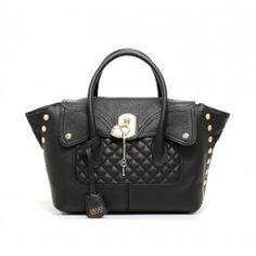 LIU JO Sac Rouge Shopping Bag in pelle BROOKLYN