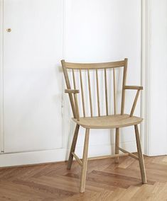 J42 Chair Solid Oak J-Series Oiled - HAY