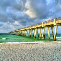 Navarre pier in Florida...longest pier on the Gulf