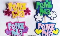 Piropos Y/o Habladores En Foami . - Bs. 60.000,00 en Mercado Libre Fun Crafts, Diy And Crafts, Crafts For Kids, Paper Crafts, Diy Food Gifts, Jar Gifts, Diy Cake Topper, Cake Toppers, Paper Umbrellas