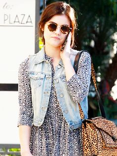 Lucy Hale shopping at Kitson's Store in Beverly Hills - November 14, 2015