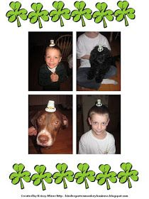 Mrs. Miner's Kindergarten Monkey Business: The Incredible Shrinking Leprechaun Hat- Free Directions and a Follow Up Freebie