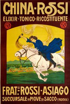 Monogram B poster: China-Rossi  #TuscanyAgriturismoGiratola