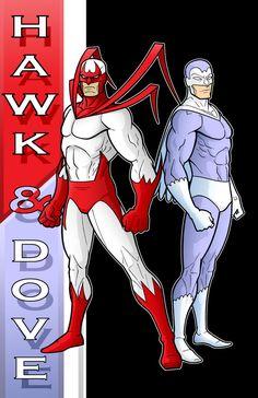 hawk dc comics | 80 s hawk and dove dc y b s by thuddleston cartoons comics traditional ...