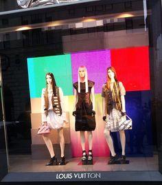 Escaparates Louis Vuitton Newe York - Nueva York (1)