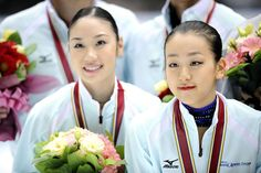 【画像】浅田真央、中野友加里 / フィギュアスケート ジャパンオープン2009