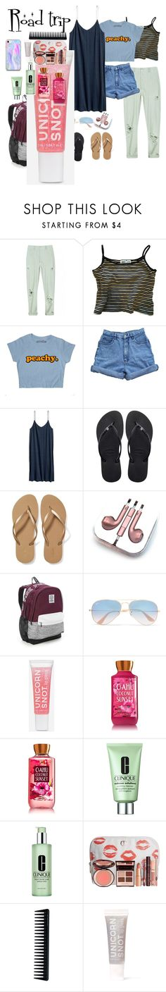 """""""yakwtfgo"""" by blackmagic-k on Polyvore featuring Rachel Comey, Bill Blass, Havaianas, Old Navy, PhunkeeTree, Victoria's Secret, Ray-Ban, Clinique, Charlotte Tilbury and GHD"""