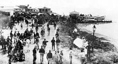 Tropas noerteamericanas en el pueblo de Arroyo.