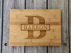 Custom Cutting Board - Personalized Cutting Board - Bamboo Cutting Board - Monogram Cutting Board - Monogram Home Decor - Wedding Gift by NeedmoreHeart on Etsy https://www.etsy.com/listing/232757862/custom-cutting-board-personalized
