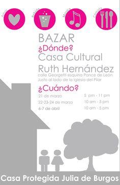 Bazar por la Casa Protegida Julia de Burgos @ San Juan