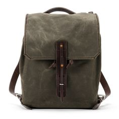 Saddleback Leather Simple Canvas Pack