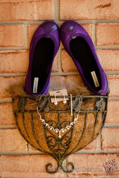Purple Wedding Shoes and Jewelry  © 2013 Uncorked Studios, LLC - Destination & Philadelphia Pennsylvania Wedding Photographer