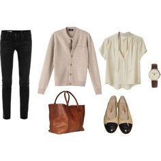A fashion look from June 2014 featuring Band of Outsiders blouses, AG Adriano Goldschmied jeans and Lotuff & Clegg tote bags. Browse and shop related looks.