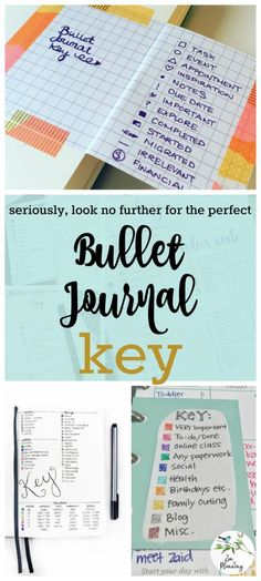 Tons of Bullet Journal Key Ideas to Organize Your Hectic Life   Zen of Planning   Planner Peace and Inspiration
