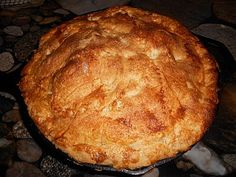 Cast Iron Skillet Apple Pie (for Cindy)