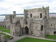 Caernafon Castle (Wales) - although I didn't get to see the Prince of Wales when I was here, I did see him crowned on TV.