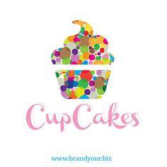 logo design for a Cake shop a candy shop ...