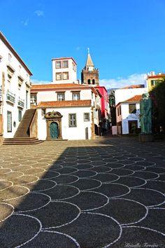 Basalt stone streets- Madeira