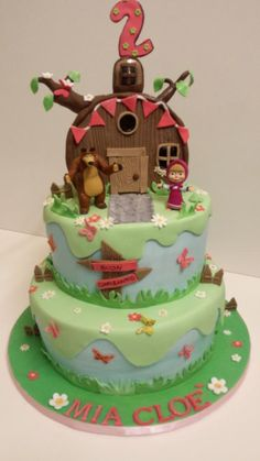 masha and the bear - Cake by Yummy Cake Shop