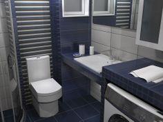 Νιπτήρας μπάνιου Slim-60 60x45cm Corfu, Toilet, Bathroom, Stuff To Buy, Home, Washroom, Litter Box, Bathrooms, Flush Toilet