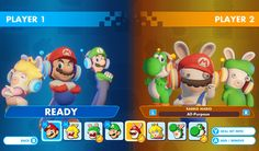 Mario + Rabbids Kingdom Battle, one of the most surprisingly amazing games of is getting a free Versus mode this Friday, December This new mode will allow you to square off against friends on the same console. Each player picks a c. Nintendo News, Player 1, Mario Brothers, Wii U, Super Mario, Luigi, Coloring Pages, How To Find Out, Battle