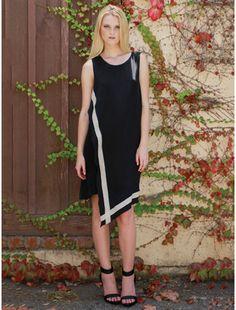 very cute...Cideniz Mori modern wrap dress