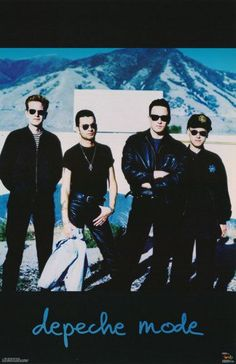 Depeche Mode 1991 Rare Poster by VintagePosterPlace on Etsy