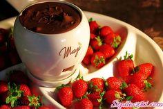 chocolate and strawberries!