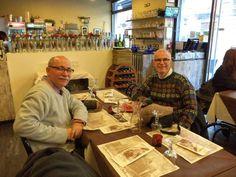 Con Horacio, en Milán.