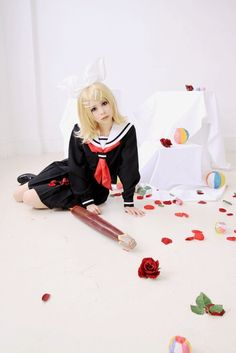 Tocchi(Tocchi) Kagamine Rin Cosplay Photo - WorldCosplay